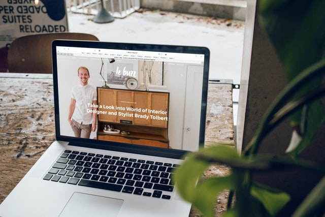 Website for a small business